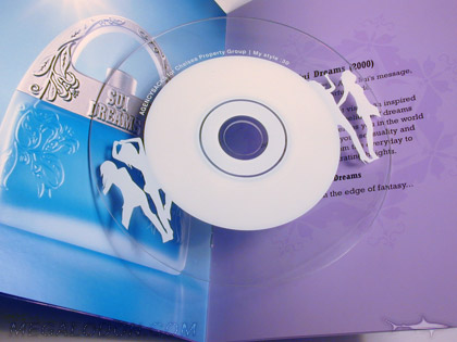 clear substrate cd