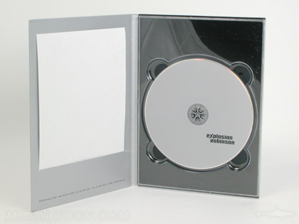 metallic flood printed digipak with slot for insert