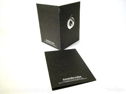 silver foil printing foiling on black fiberboard dvd jacket packaging