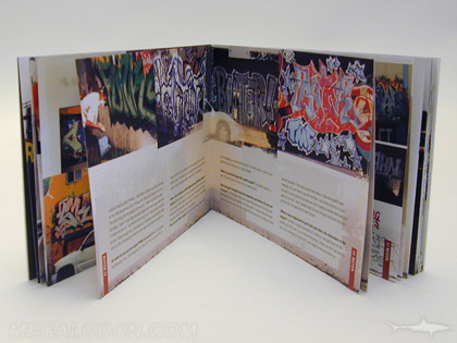 wide digipak booklet