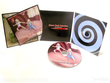 cd jacket with foam hub 6panels booklet