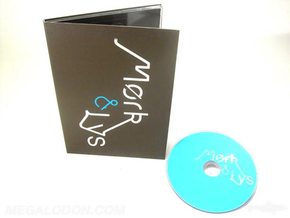 silver foil printing on dvd digipak packaging