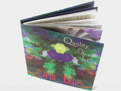 soft book cd packaging with swinging sleeve