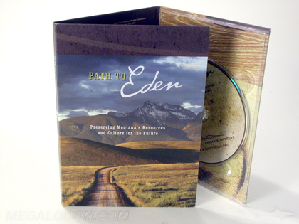 custom dvd digipak uncoated matte paper