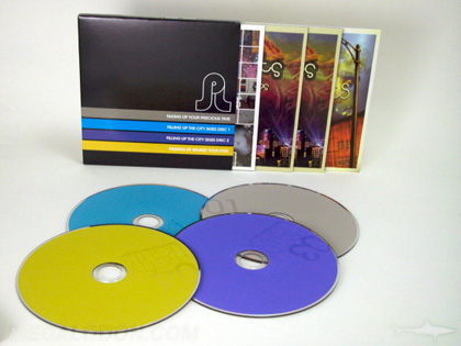 multidisc slipcase set packaging
