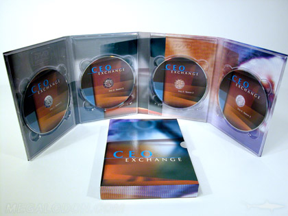 DVD Slipcase Multidisc Set 4disc set packaging
