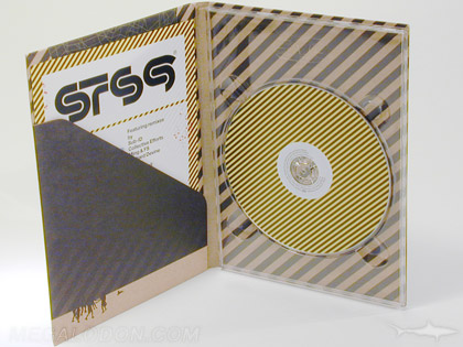 sts9_1 4pp tall digipak fiberboard diagonal pocket
