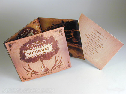 retro cd packaging vintage look